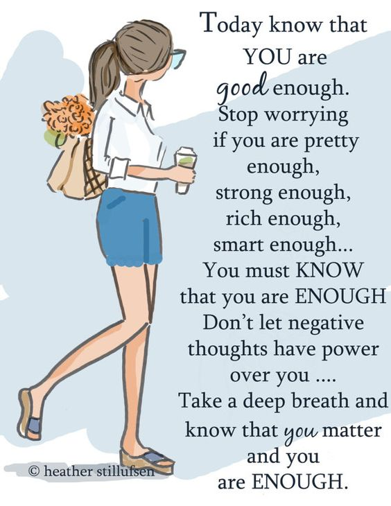 you-are-good-enough-life-daily-quotes-sayings-pictures-1